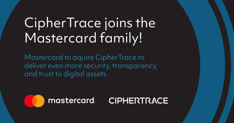 Criptomonedas: MasterCard adquiere CipherTrace