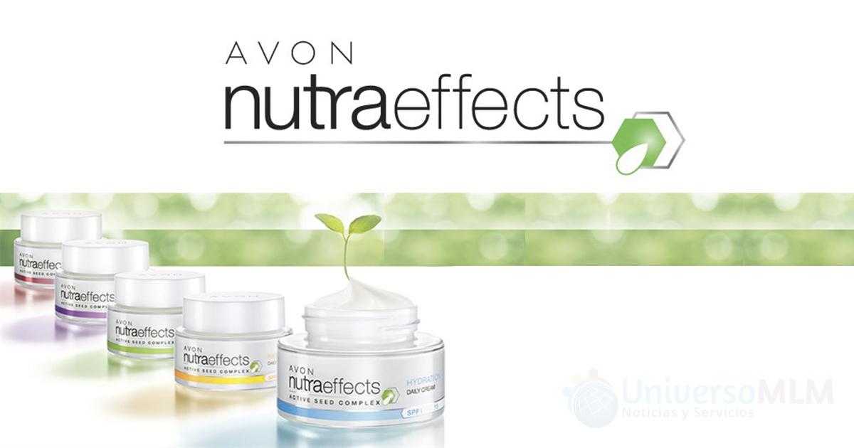 Nueva linea Nutra Effects de Avon