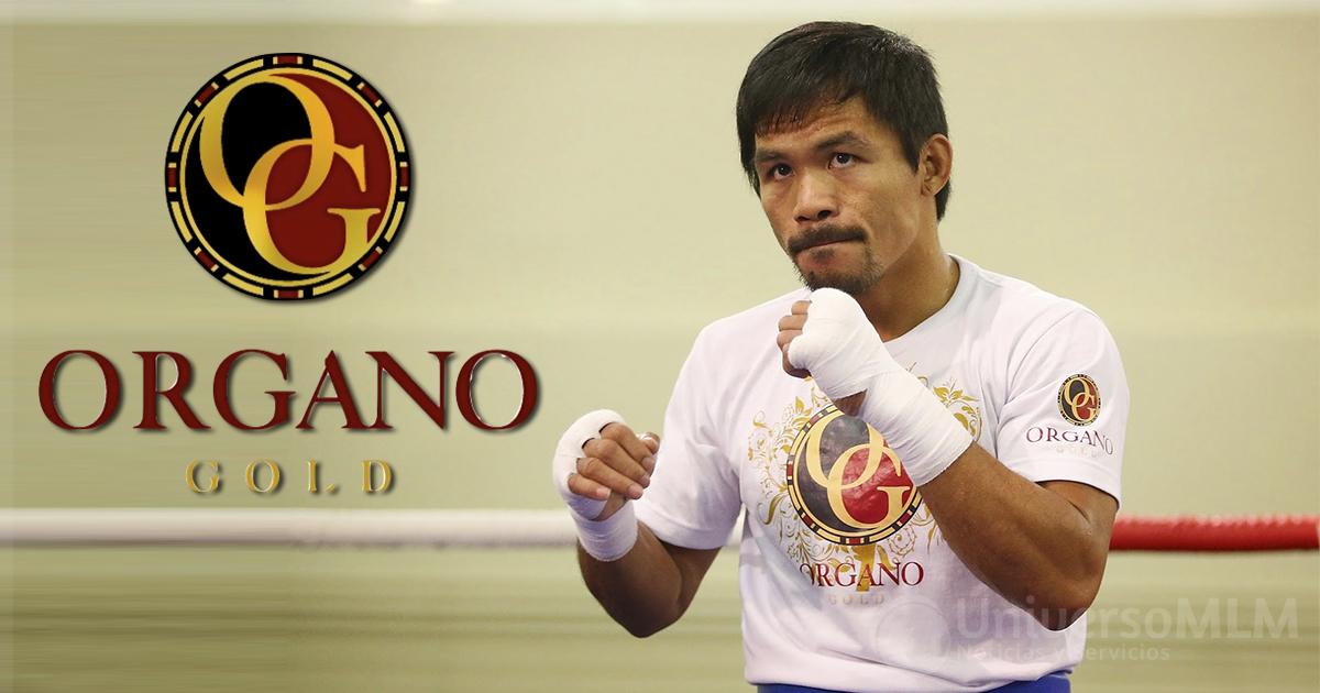 Manny Pacquiao se asocia con Organo Gold