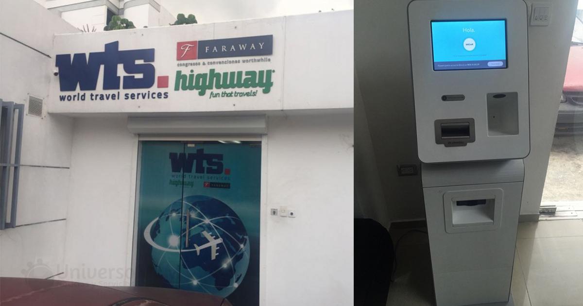 Cajero de bitcoin en República Dominicana
