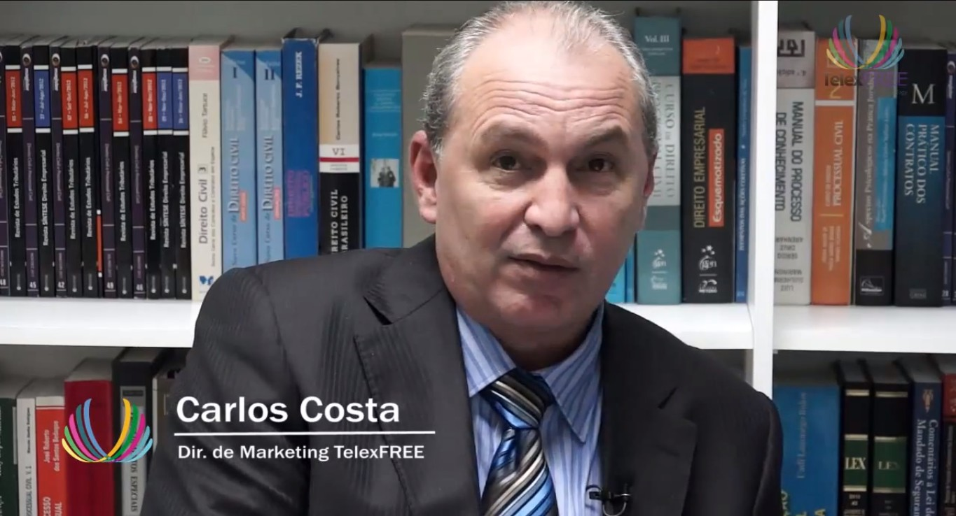 Carlos Costa, director de Marketing de TelexFREE en Brasil