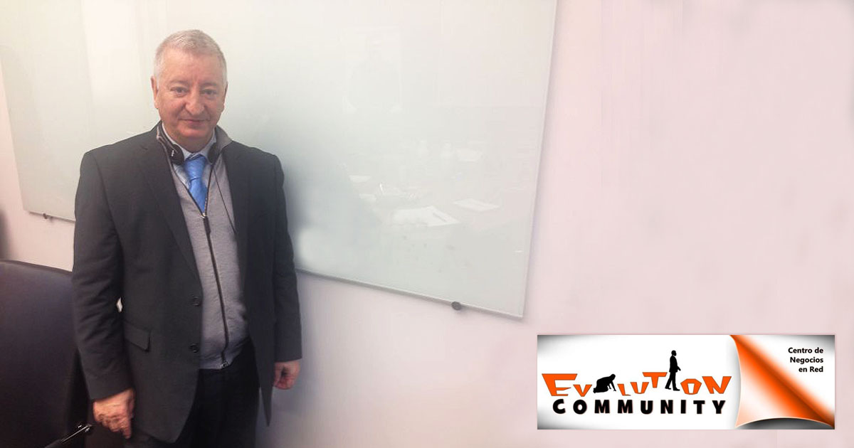 Rafael Henares, responsable de Evolution Community
