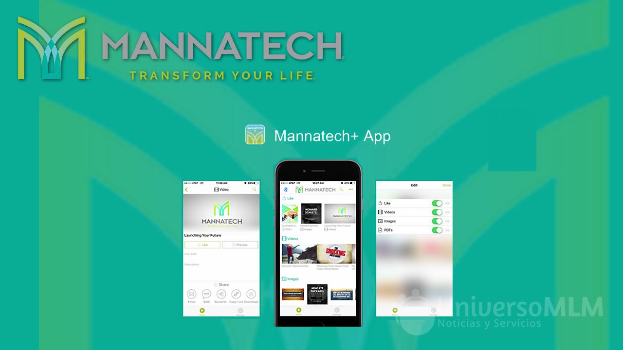 Nueva app Mannatech+