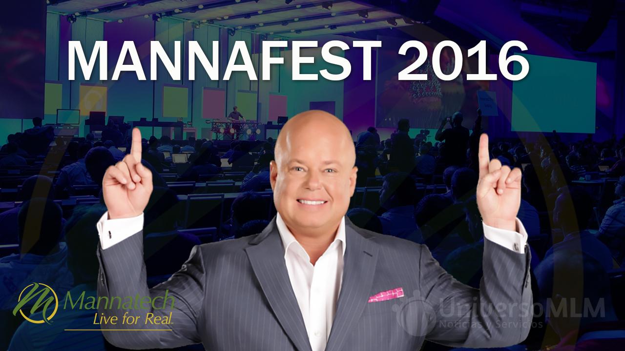 Eric Worre en el MannaFest 2016