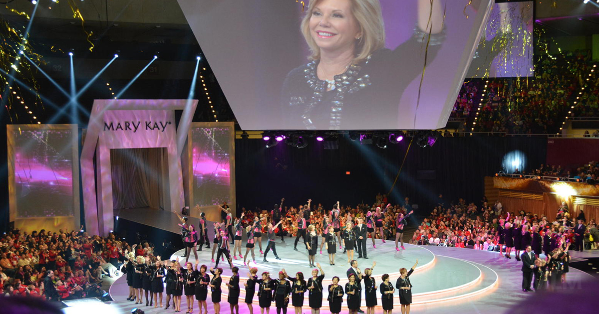Evento internacional de Mary Kay