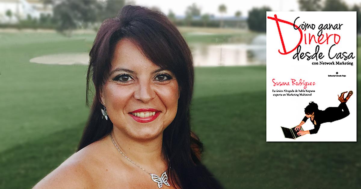 Susana Rodríguez, abogada experta en multinivel presenta su manual sobre la venta directa y MLM