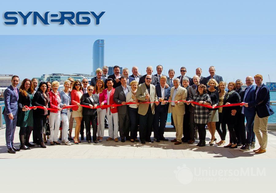 Inauguración de la sede europea de Synergy en Barcelona