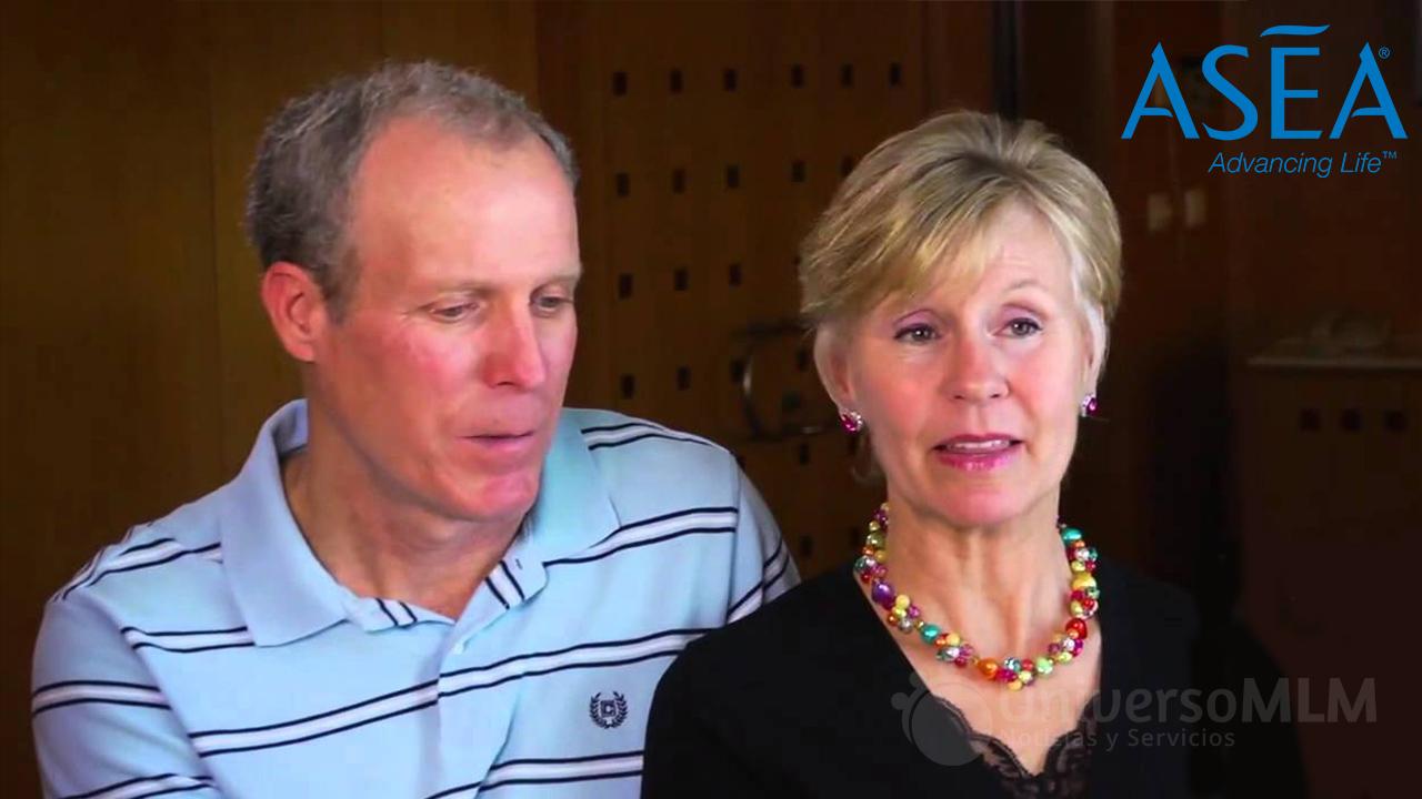 Trish y Bob Schwenkler