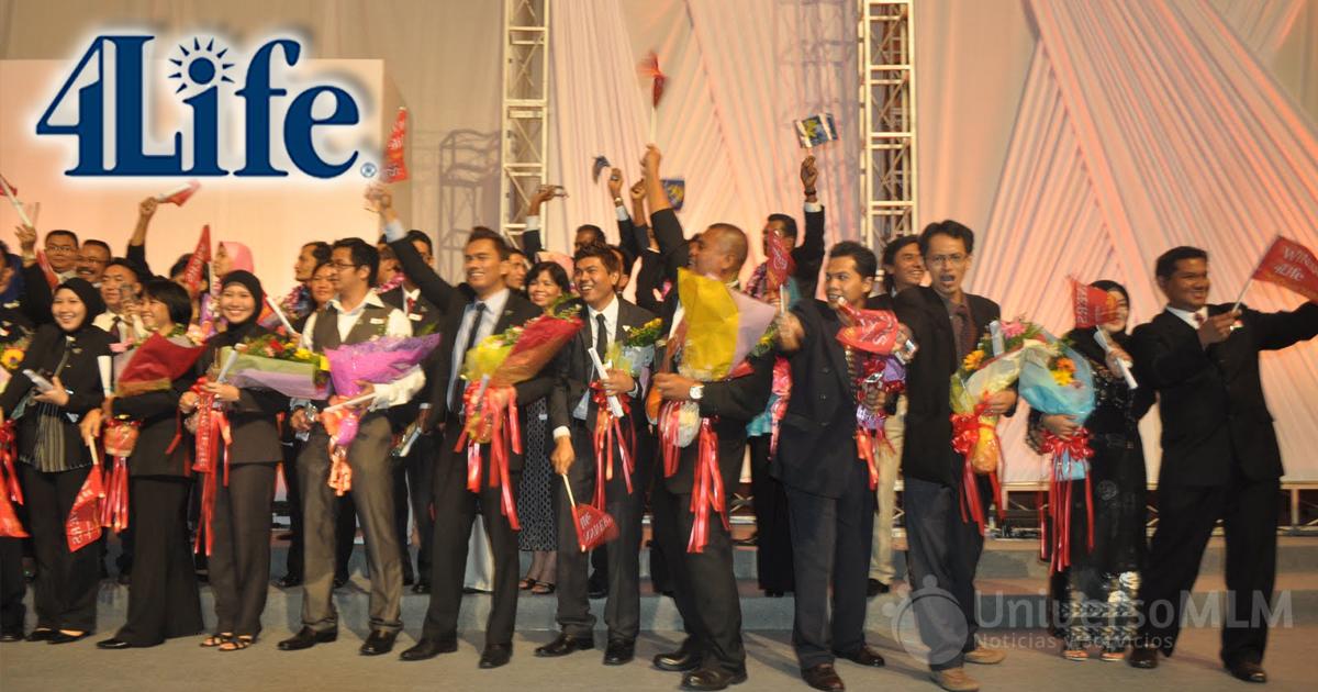 Reunión de líderes de 4Life en Asia