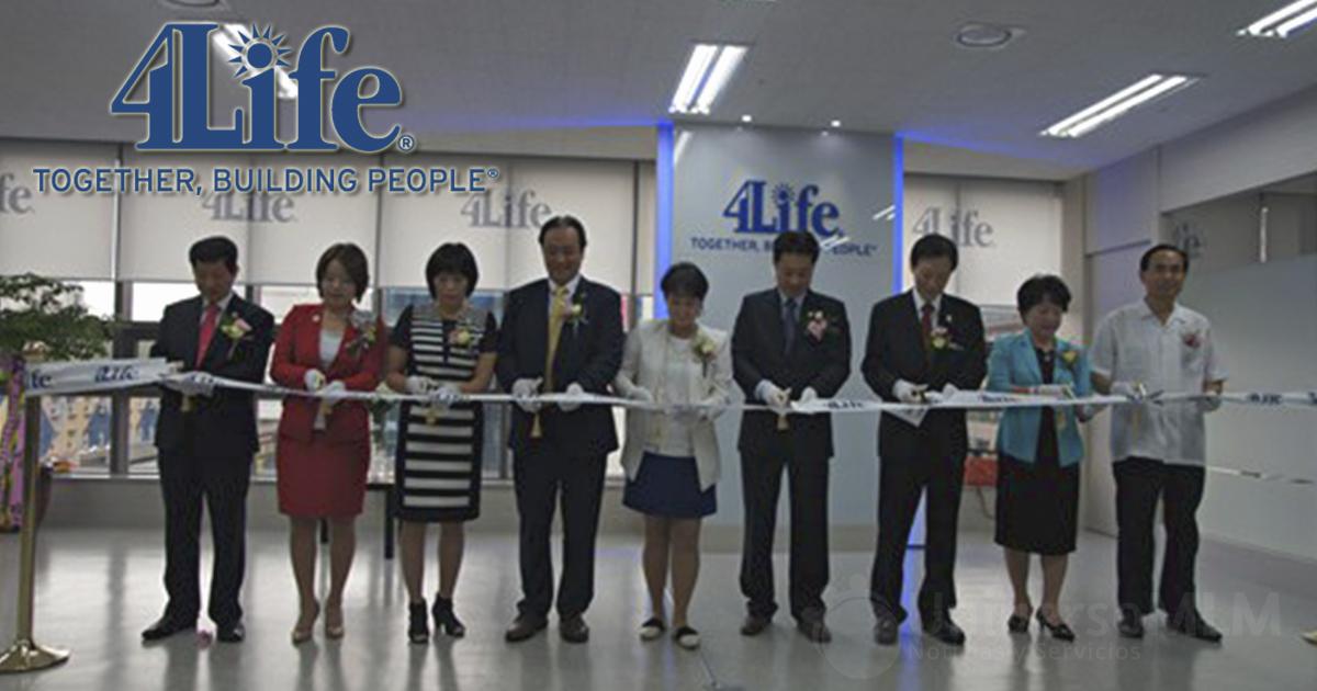 Inauguración de la nueva oficina de 4Life en Corea del Sur