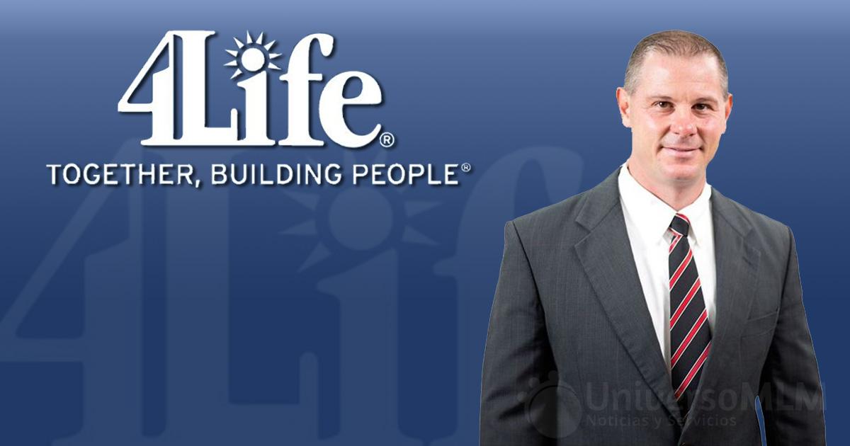 David Vollmer, nuevo director científico de 4Life