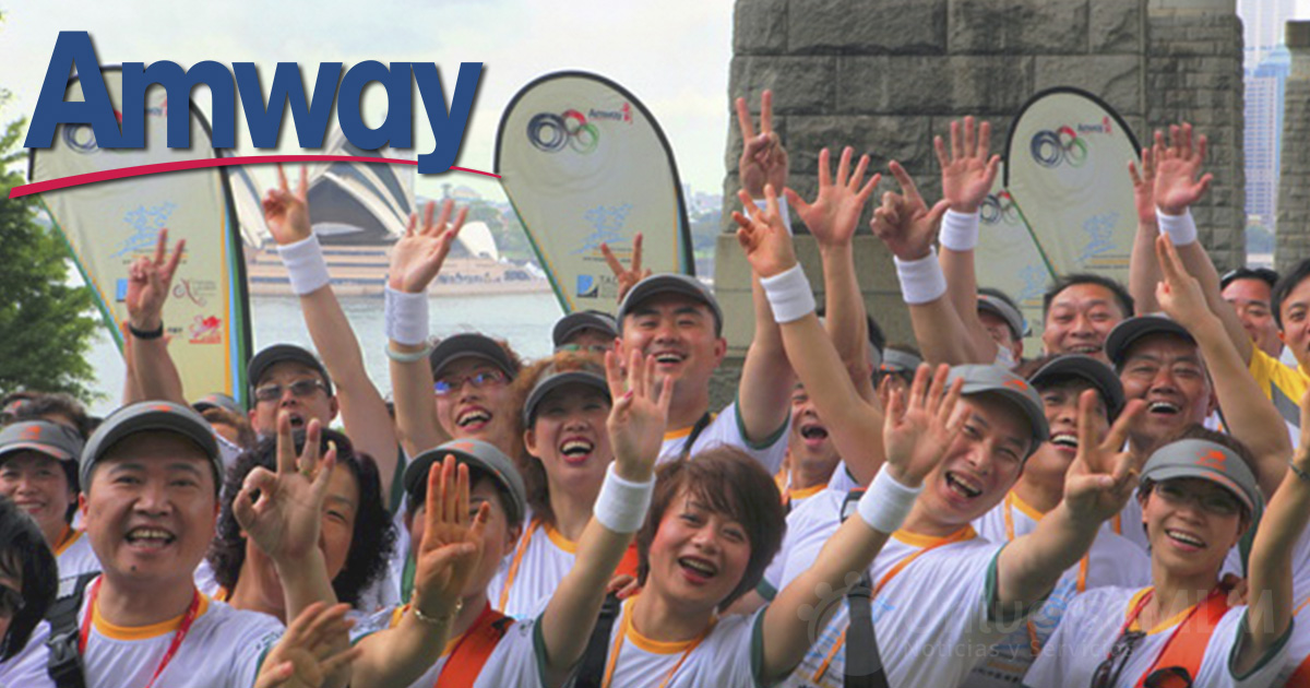 Delegados de Amway China en Australia