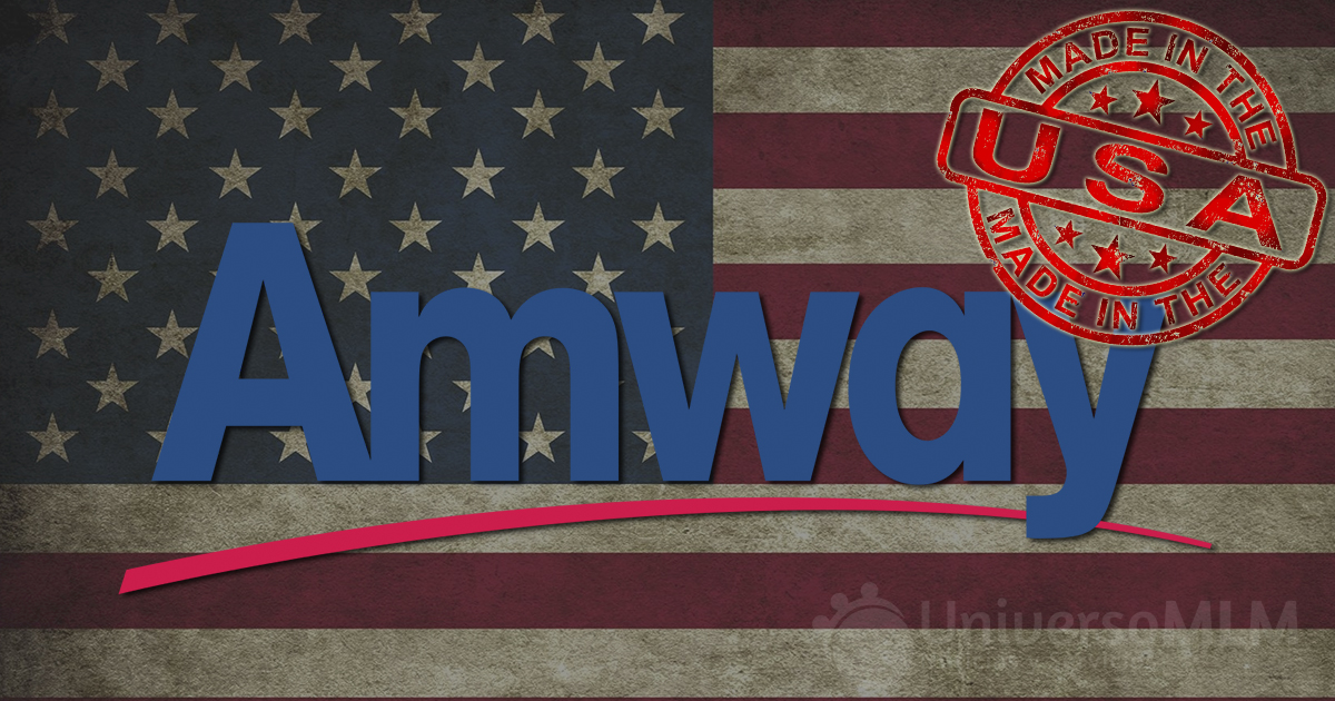 Amway, made in USA
