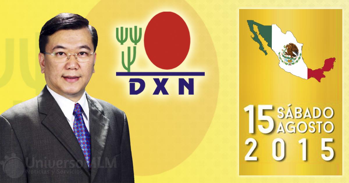 El doctor Lim, fundador de DXN