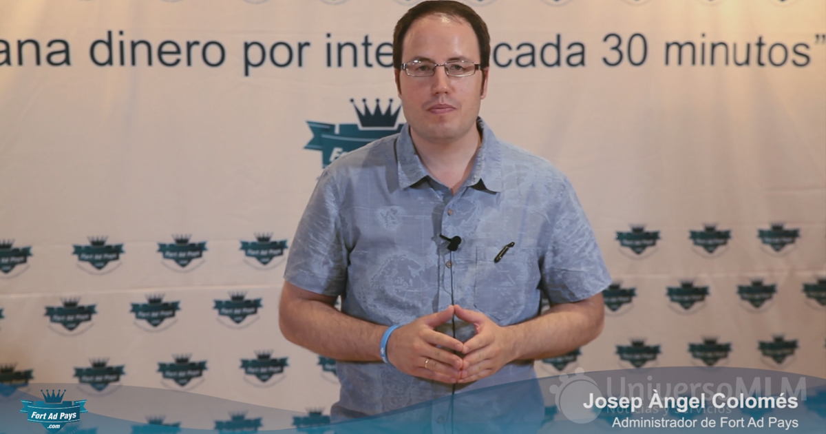 Josep Ángel Colomés, administrador de Fort Ad Pays