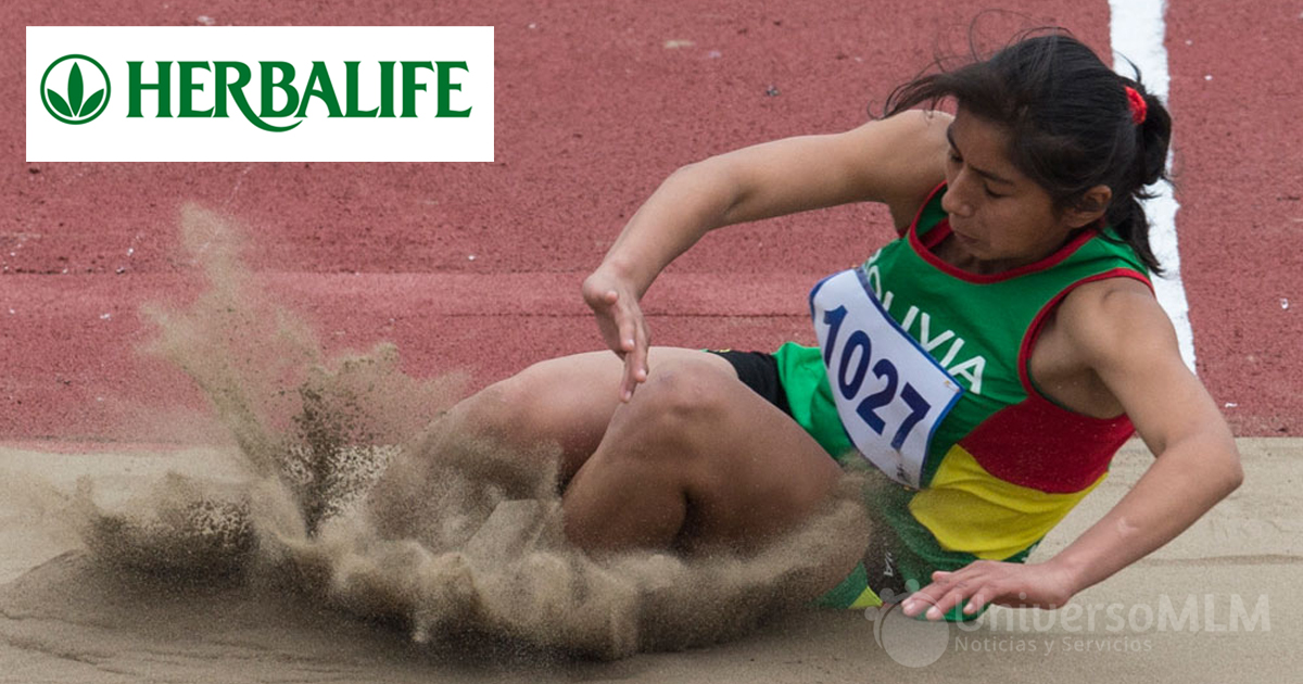 La atleta boliviana Valeria Quispe