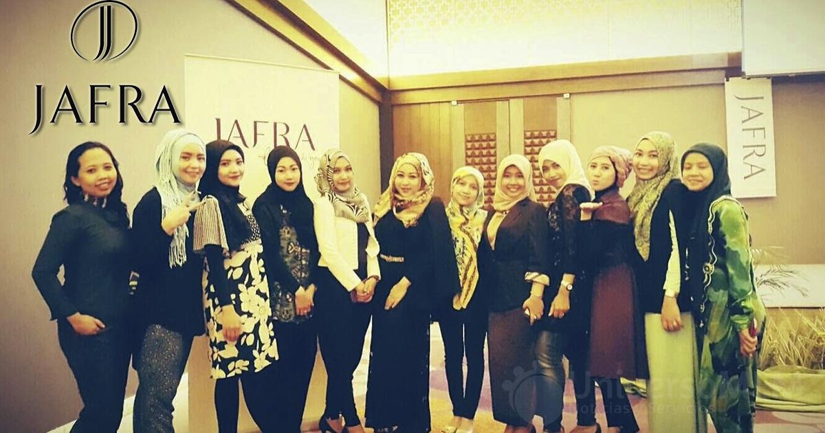 Asistentes al evento de Jafra Indonesia