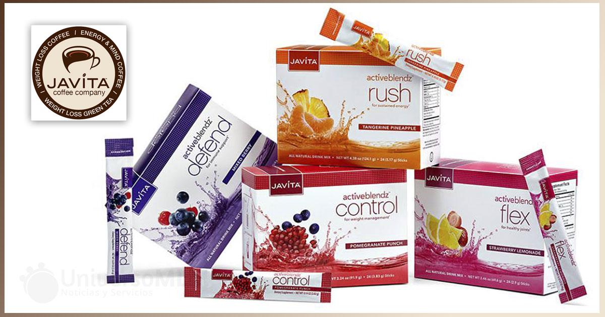 Javita presenta la línea de productos ActiveBlendz
