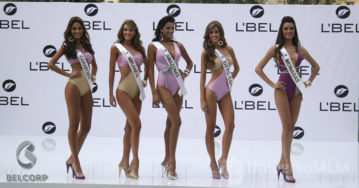 Marca Lbel en el certamen de Miss Venezuela