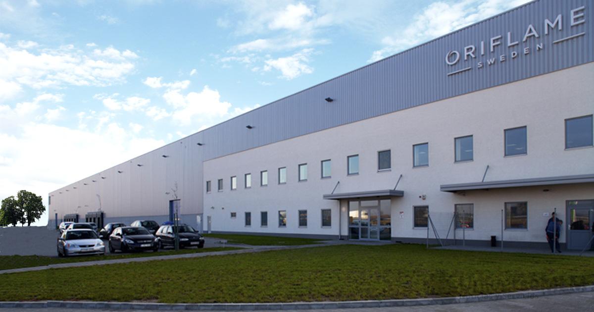 La sede de Oriflame en Suecia