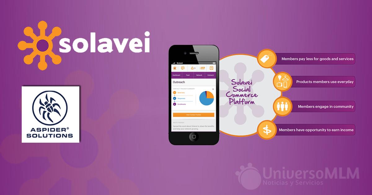 Solavei confirma su fusión con ASPIDER