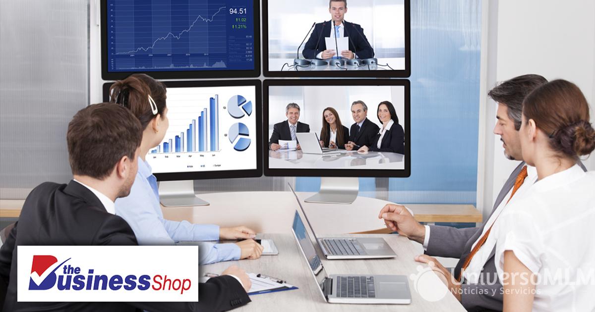 The Business Shop utilizará una nueva sala online con nueva dirección