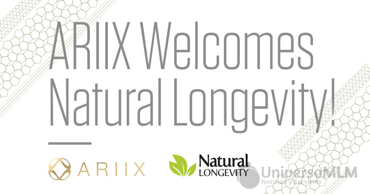 Natural Longevity se une a Ariix