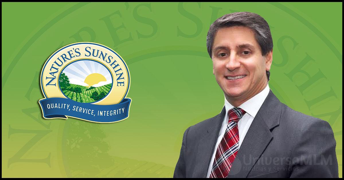 Carlos López, Presidente de Nature´s Sunshine para la región.