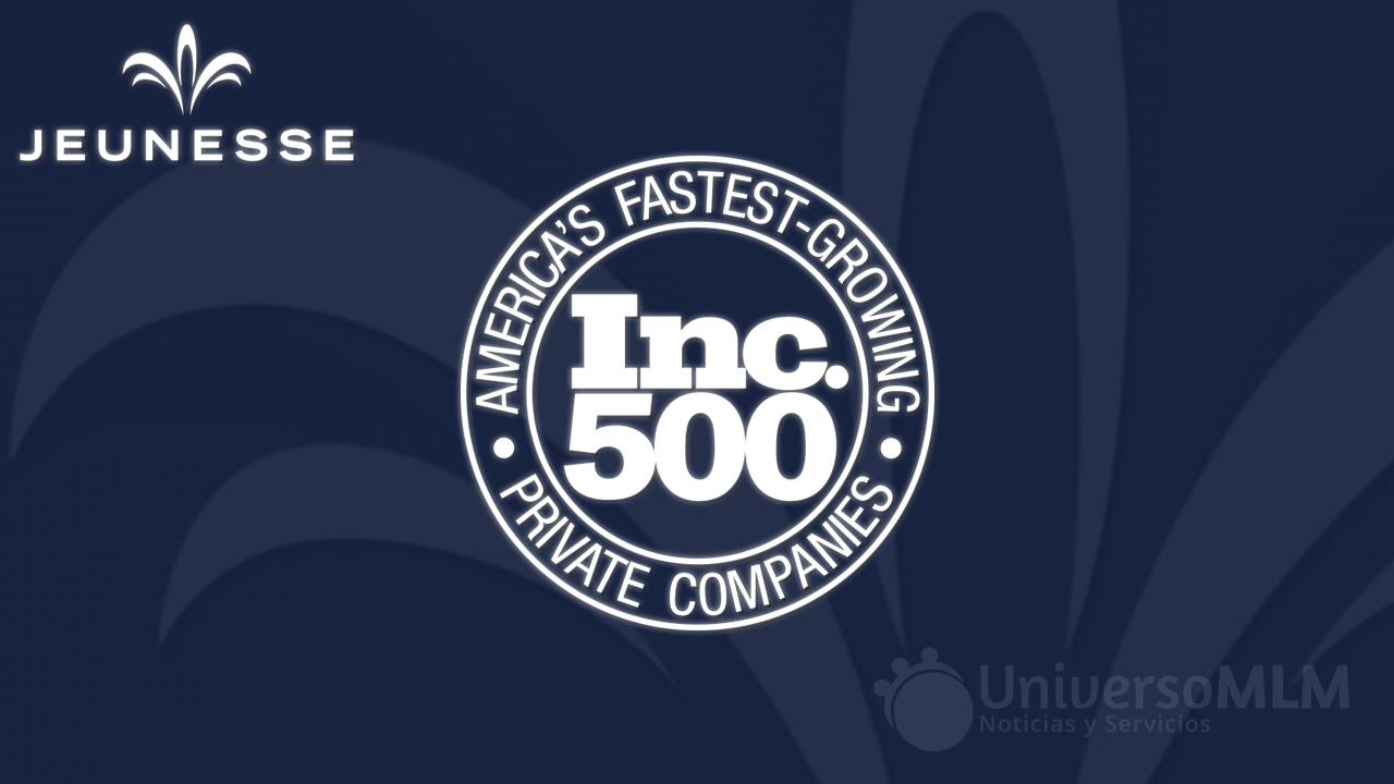 Jeunesse en el Inc. 500