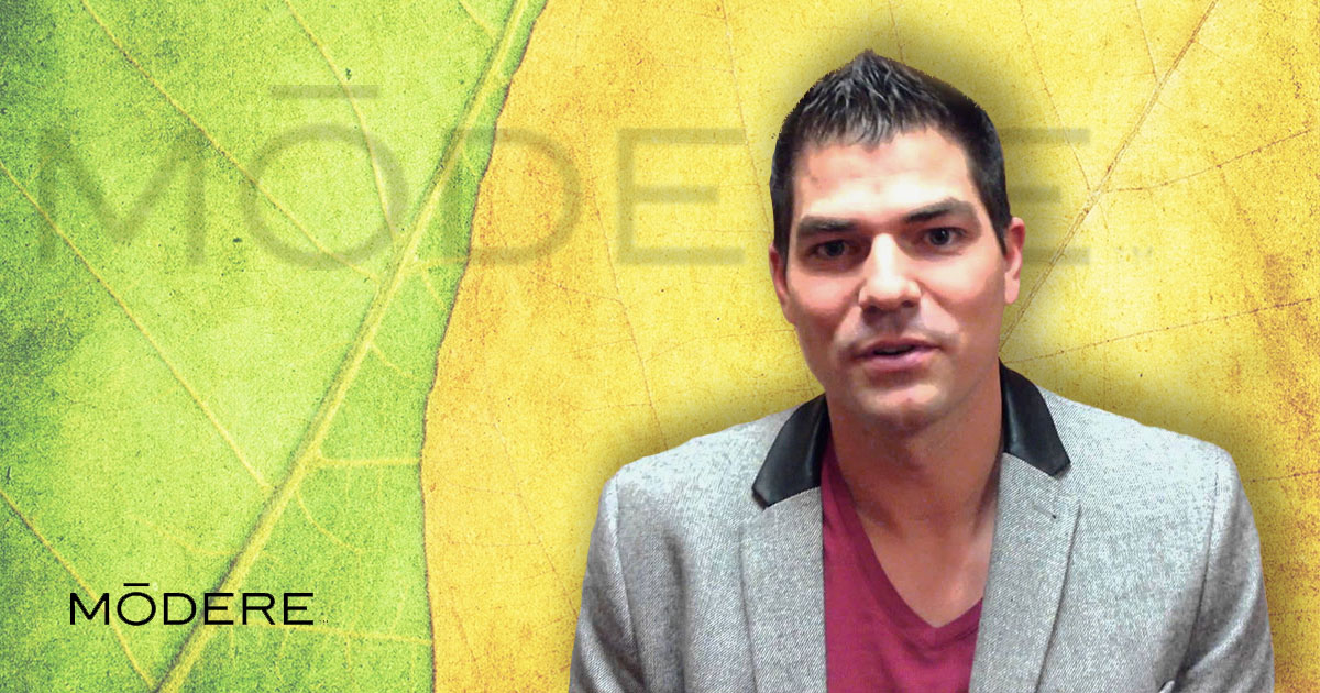 Justin Serra, gerente general de Modere para Norte América