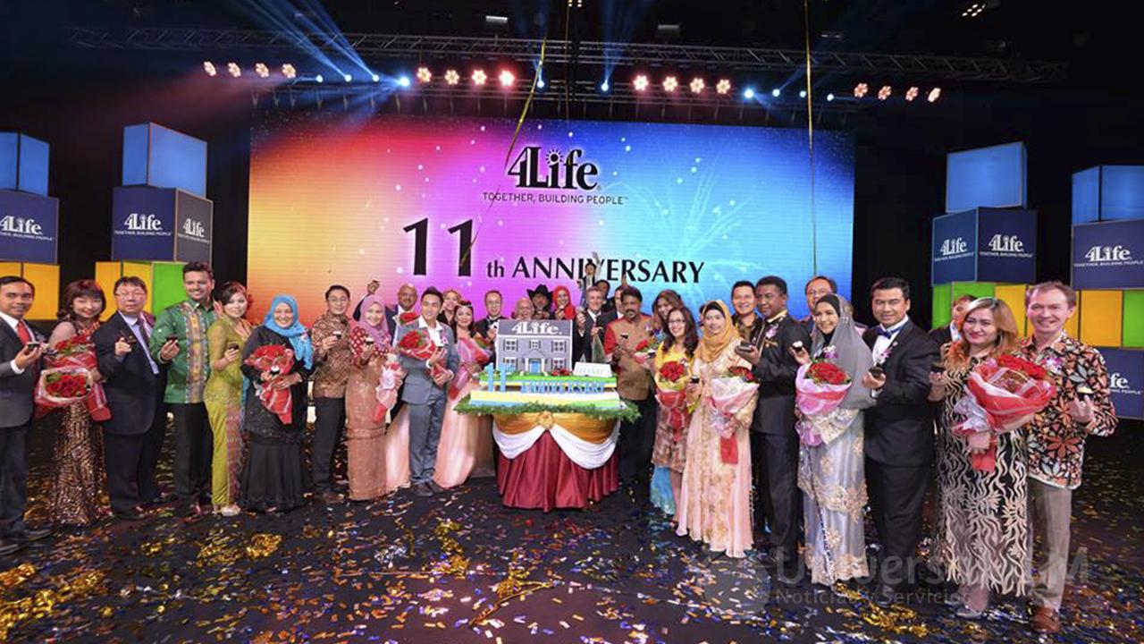 11 aniversario de 4Life Malasia