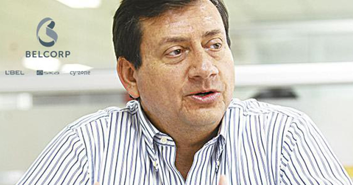 José Luis Coloma, director general de Belcorp Bolivia