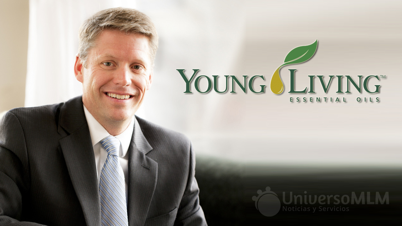 Travis Ogden, CEO de Young Living
