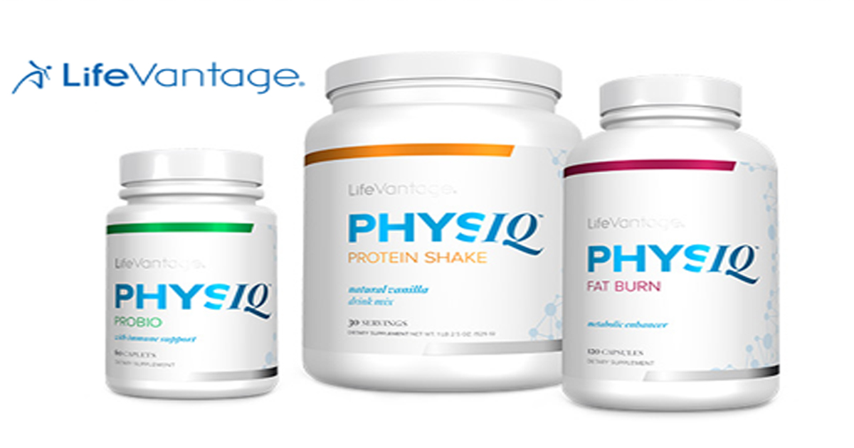 LifeVantage lanza PhysIQ, sistema de control de peso