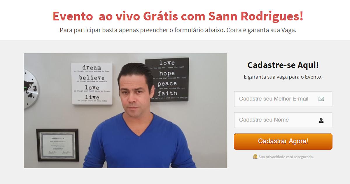 Sann Rodrigues, polémico networker brasileño envuelto en algunos casos de estafa