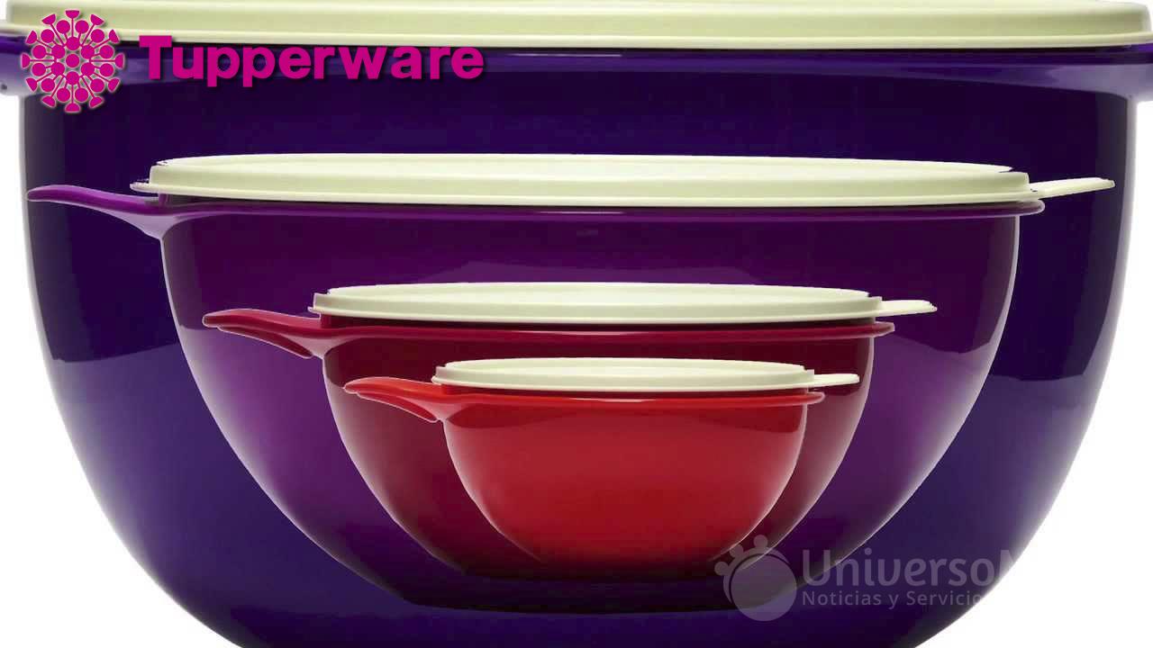Ultra tazones de Tupperware