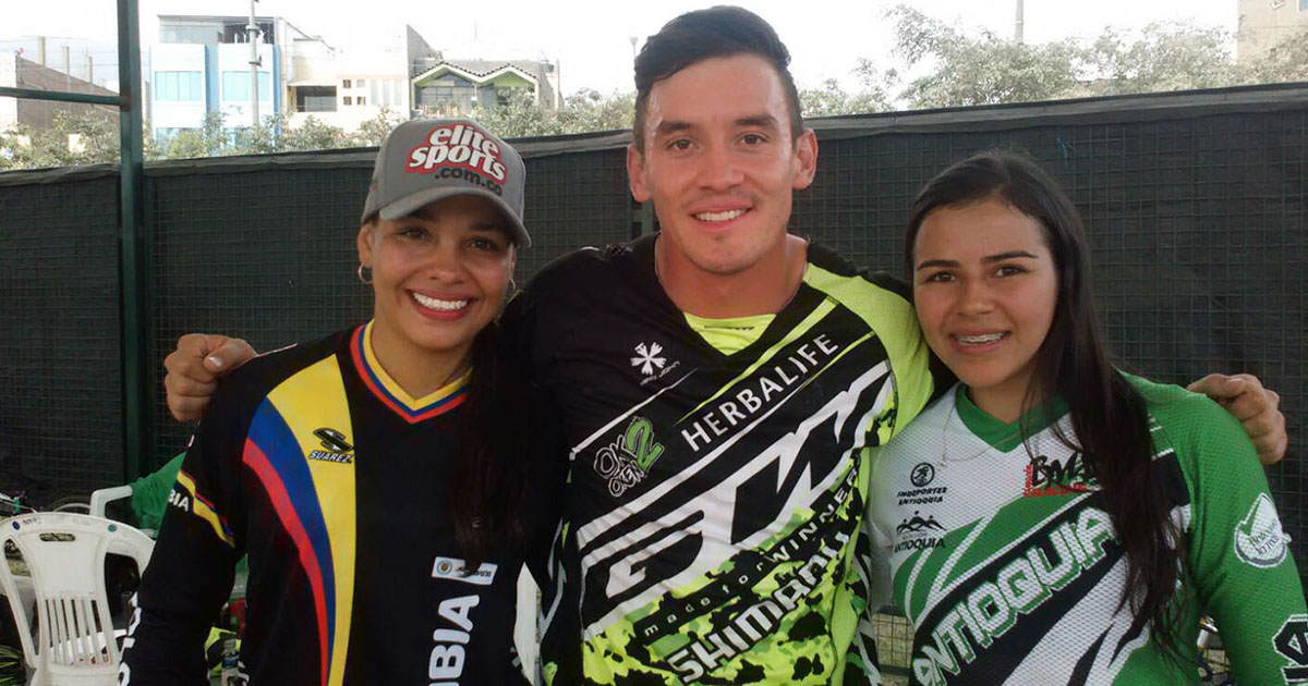 Carlos Oquendo, Medallista colombiano en BMX
