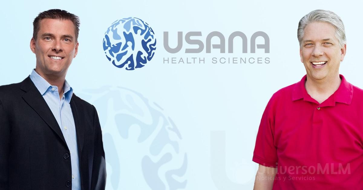 Dave Wentz y Kevin Guest CEO de USANA Health