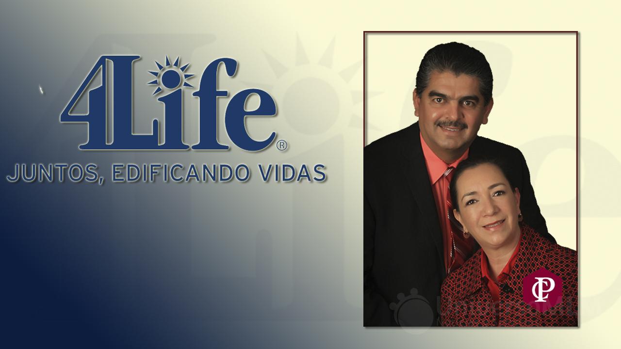 Luis Mario y Guadalupe Nevárez, Diamantes Internacional Oro 4Life