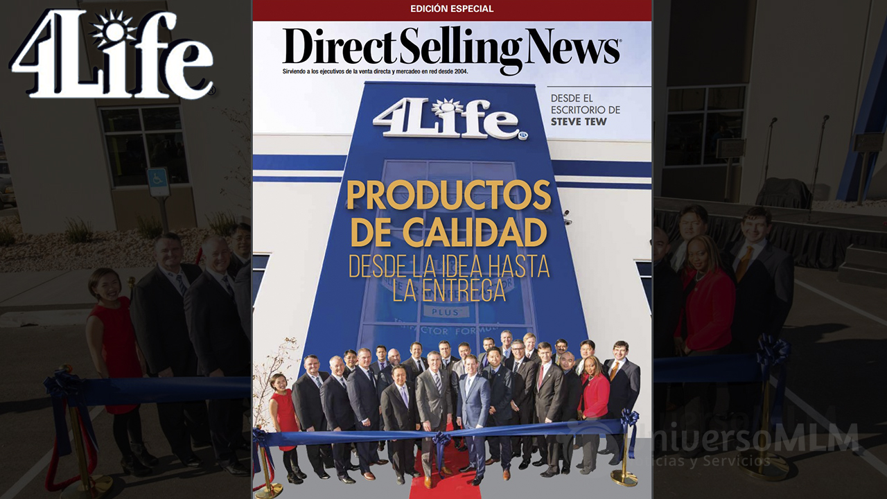 Portada de Direct Selling News