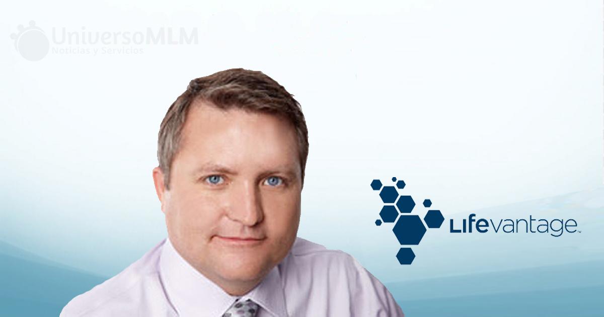 Darren Jensen, presidente y nuevo consejero de LifeVantage