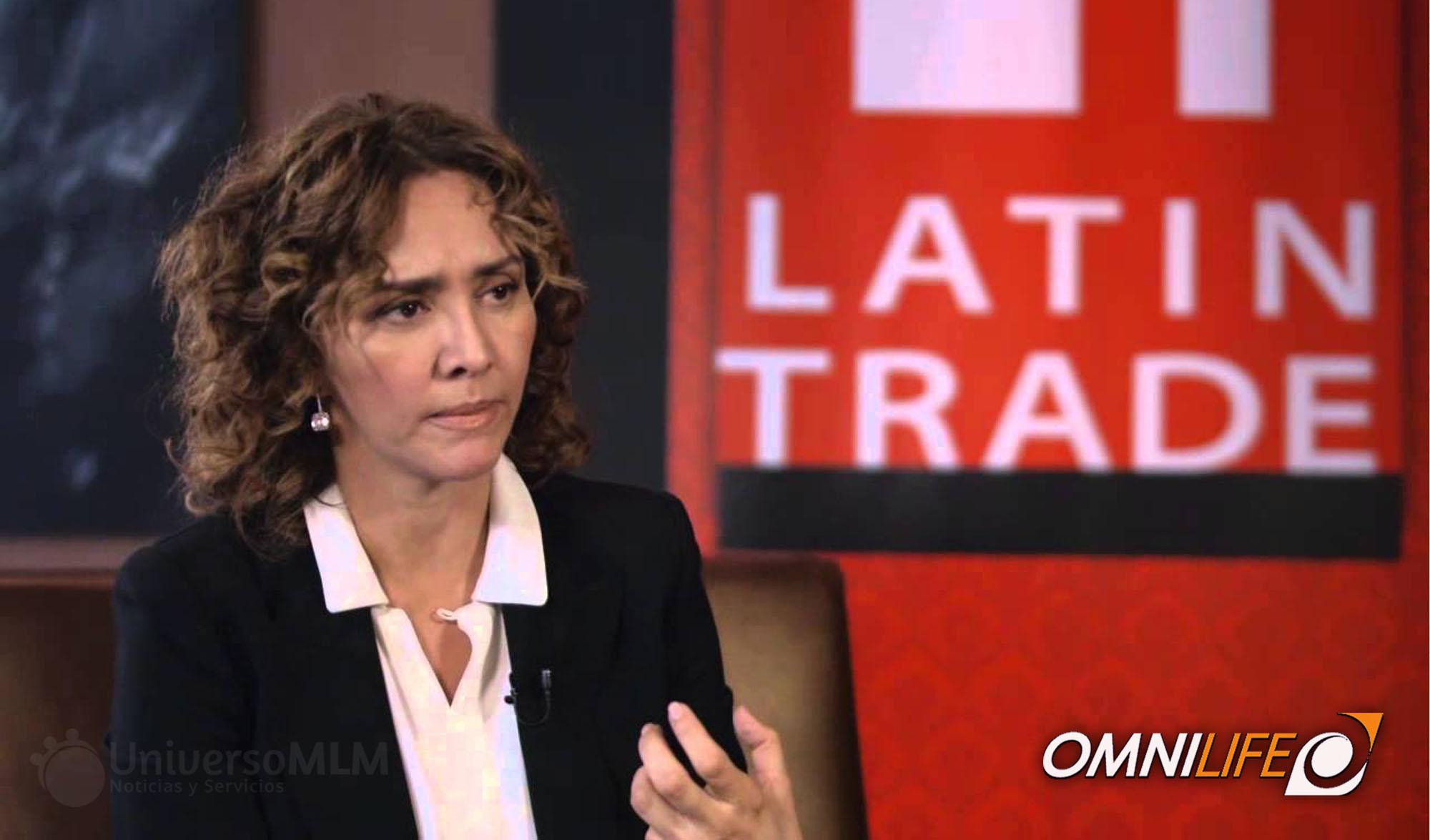 Angélica Fuentes responsable de operaciones irregulares en las cuentas de Jorge Vergara