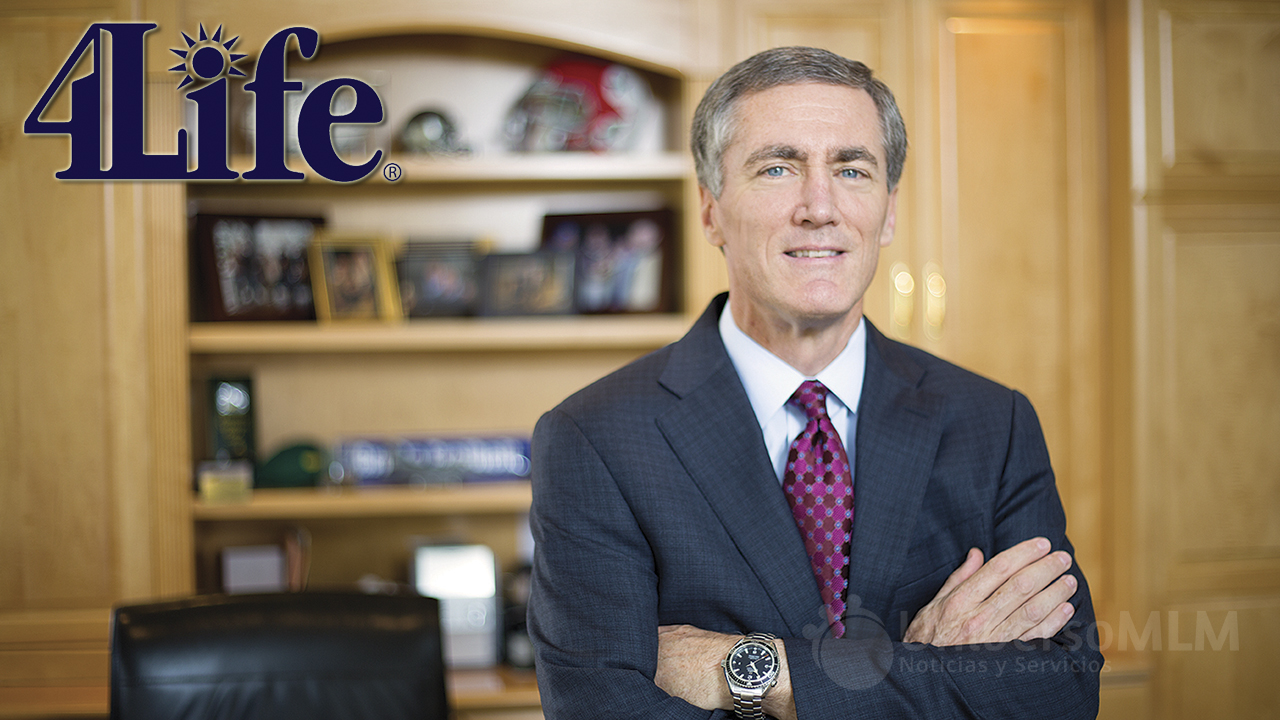 Steve Tew, presidente y CEO de 4Life