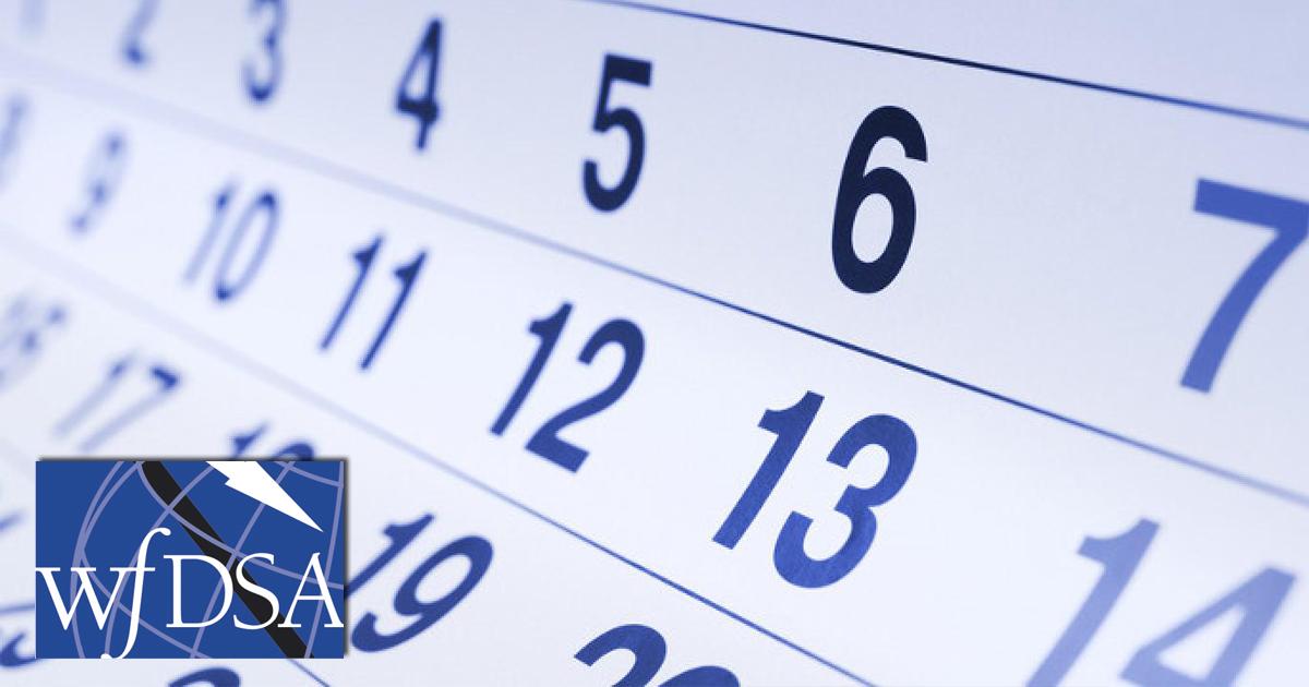 La WFDSA presenta el Calendario de seguimiento a la industria