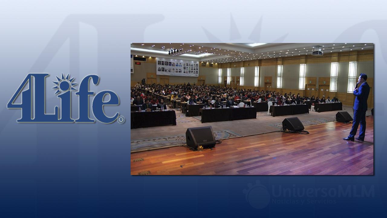 Curso de formación empresarial 4Life Corea
