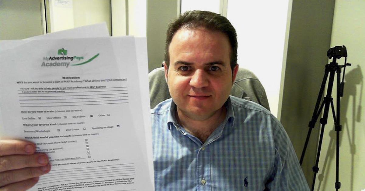 Alfonso Sánchez, Blue Diamond de MAP y entrenador ejecutivo en MAP