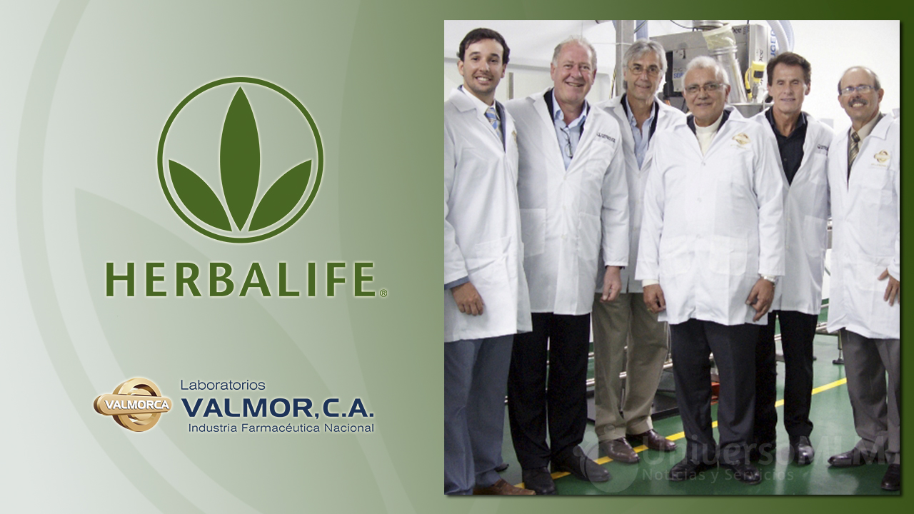 Nueva planta de Herbalife en las instalaciones de Valmor, C.A.
