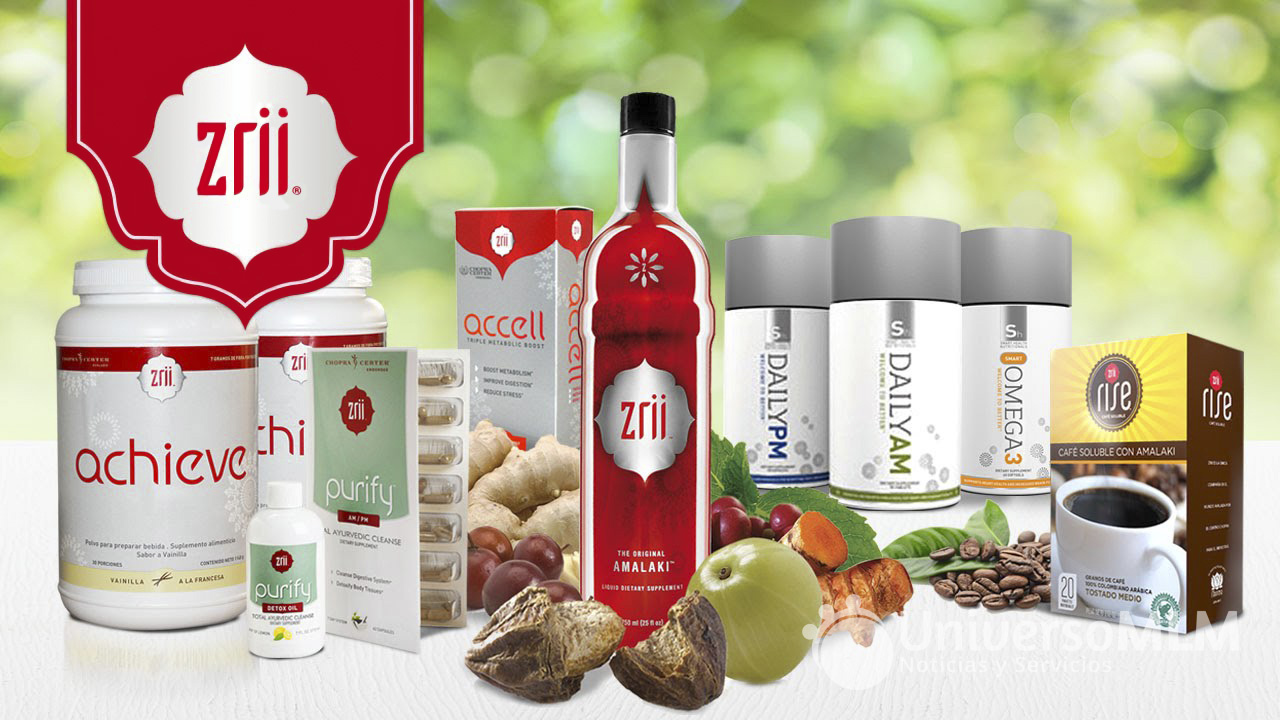 Productos Zrii