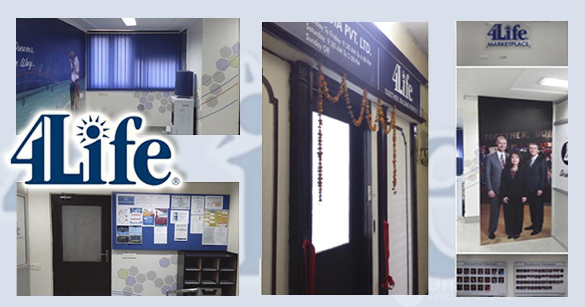 Imágenes de las nuevas oficinas de 4Life en la India