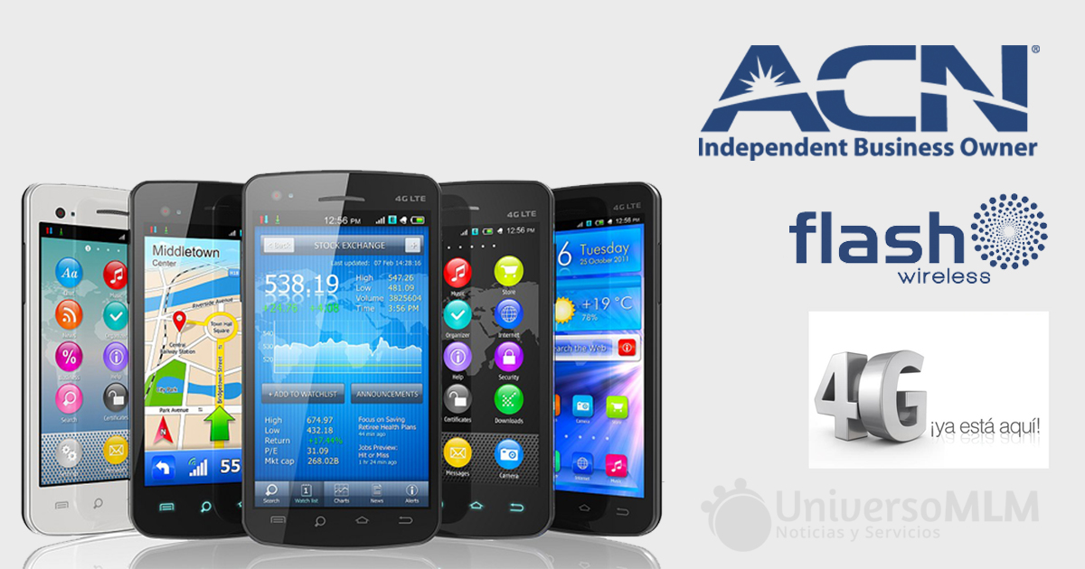 ACN y Flash Wireless quieren revolucionar el mundo del 4G